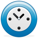 time, Wait, Clock DarkCyan icon
