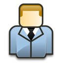 Business man, consultant, male, user, Man, Administrator Black icon
