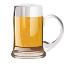 glass, Alcohol, beer Black icon