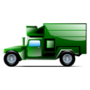 transportation, Car, vehicle, truck Black icon