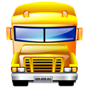 Bus Black icon
