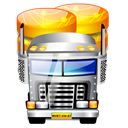 transport, Data Black icon