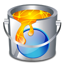 fill, Color, Bucket Black icon