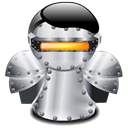 robot Black icon