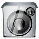 Audio, speakers DarkGray icon