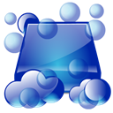 cleaner, cleaning, Clean SteelBlue icon