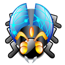 virus Black icon