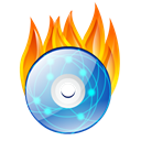 Dvd, Burn Black icon