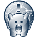 piggy, Bank, Money, savings Black icon