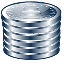 Coins DarkSlateGray icon