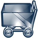 Cart, shopping DarkSlateGray icon