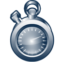 frame, time Black icon