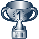 cup, trophy, Prize DarkSlateGray icon