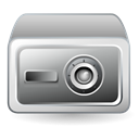 safety, Box DarkGray icon