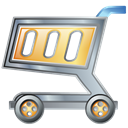Cart, shopping Black icon