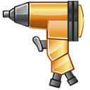 Impact, Wrench Black icon