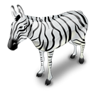 Zebra Black icon