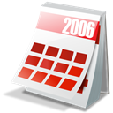 year, Calendar Black icon