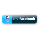 large, Facebook DarkSlateGray icon