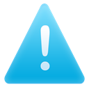 exclamation, Alert, warning, Message DeepSkyBlue icon