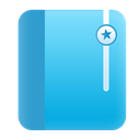 browser bookmark, bookmark MediumTurquoise icon