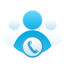 group, Call, support, Skype, user Black icon
