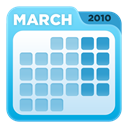 Calendar SkyBlue icon