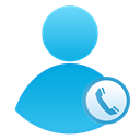 Call center, Call, user Black icon