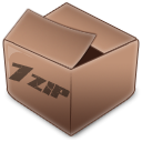 7zip RosyBrown icon