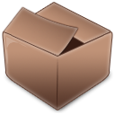 inventory, Box RosyBrown icon