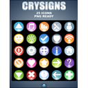 tux, by, crysigns, kyo DarkSlateGray icon
