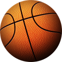 Ball, Basket, sport Chocolate icon