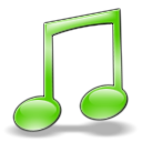 music LightGreen icon
