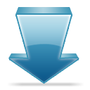 download, Disk SteelBlue icon