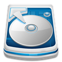 Harddrive Gainsboro icon