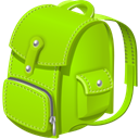 Backpack Chartreuse icon