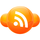 spheres, Rss, feed DarkOrange icon