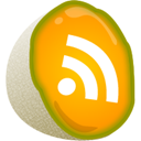 melon, feed, Rss Orange icon