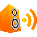 speaker DarkOrange icon