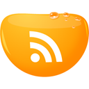 Rss, feed Orange icon