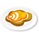 food, feed, Rss, toast WhiteSmoke icon