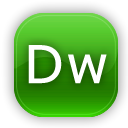 dreamweaver LimeGreen icon