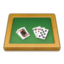 poker, Blackjack, Cards SeaGreen icon