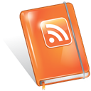 feed, Rss, Book Coral icon