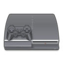 Playstation, Games Gray icon