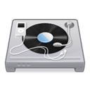 ipod, turntable, music, Dj Black icon