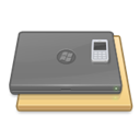 pc, Desktop, Laptop Gray icon