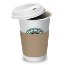 starbucks, Coffee, cup Black icon
