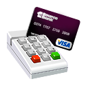 credit, card, payment Gainsboro icon