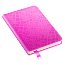 notepad, diary, Book Black icon